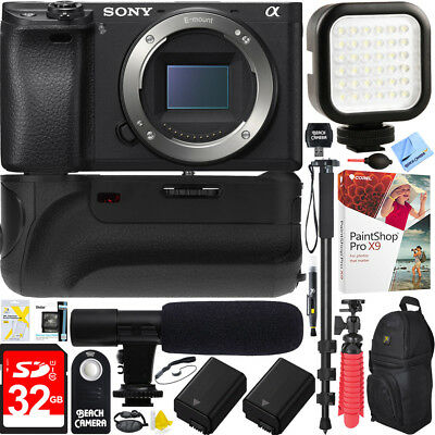 Sony Sony Alpha a6000 24.3MP Interchangeable Lens Camera Body only