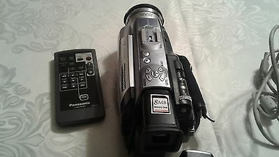 Panasonic Digital Video Camcorder Lot with Bag no battery charger