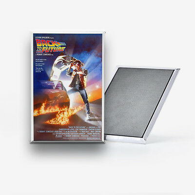 Back to the Future Movie Poster Refrigerator Magnet 2x3