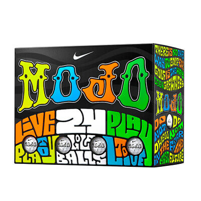 NEW Nike MOJO Golf Balls - DOUBLE DOZEN