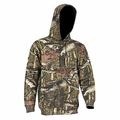 Yukon Gear Men's Performance Fleece Hoodie Hunting Hiking Camping Fishing