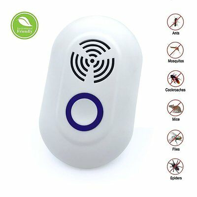 Ultrasonic Plug In Mice Mouse Rodent Rat Spider Ant Repeller Pest Control
