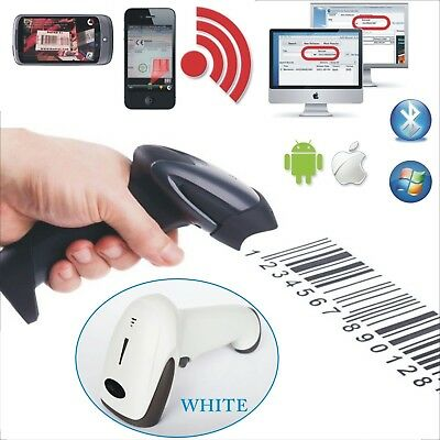 Wireless Barcode Scanner Bluetooth Reader For Android IOS Windows 7/8 2 colors