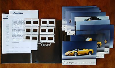 Lamborghini 1999 Geneva Show Press Kit, (French text)