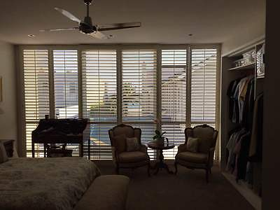 Timber or PVC shutters custom made for inside and outside windows and doors