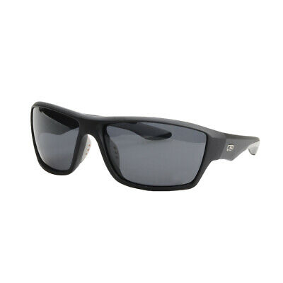 NEW Striker SS1 Sunglasses - BLACK/GREY WITH SMOKE LENS