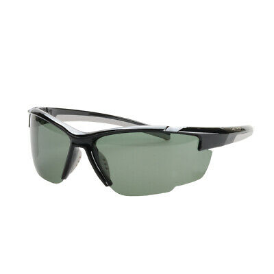 NEW Striker SS2 Sunglasses - BLACK/GREY WITH SMOKE LENS