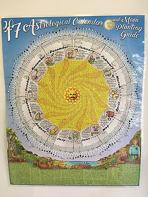 NEW 2017 Astrological Calendar and Moon Planting Guide