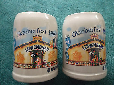 2 bierkr ge ton 0 5 liter krug sammlerst ck l wenbr u oktoberfest 1995 eur 7 90 picclick de. Black Bedroom Furniture Sets. Home Design Ideas