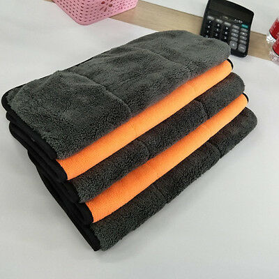 Set of 6 Microfiber Cleaning Cloth Car Towel Rag Polishing No Scratch Detailing