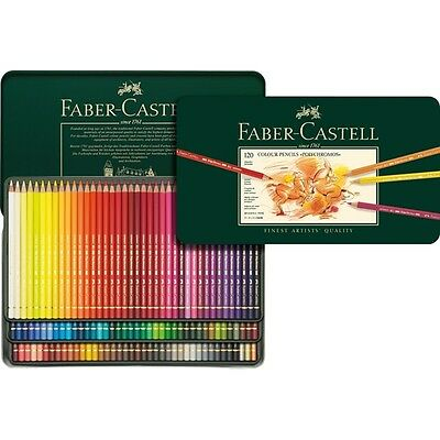 Faber-Castell Polychromos Colour Pencils Tin Of 120 Assorted Colours