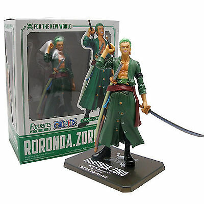 "16cm/6.3"" ONE PIECE POP RORONOA ZORO PVC Action Figure Figurine Toy In BOX"