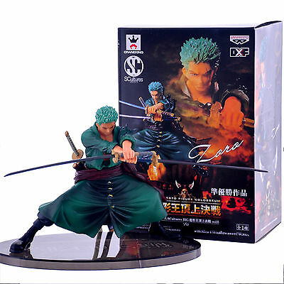 Anime One Piece Decisive Battle Roronoa Zoro Doll Action Figure Decoration Toy