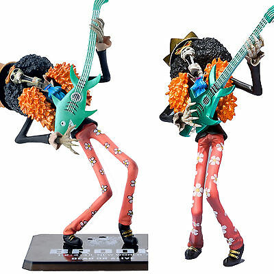 "One Piece NEW WORLD Zero Brook Figure PVC Japan Figurine Toys Gift 18cm / 7"" AU"