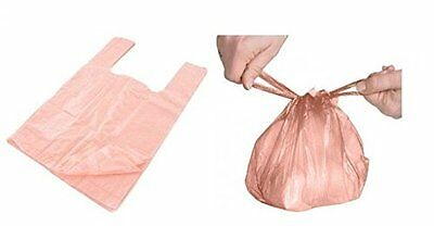 2 x 300 Disposable Nappy Sack Bin Bags ROSE Fragranced Handle Scented Perfumed