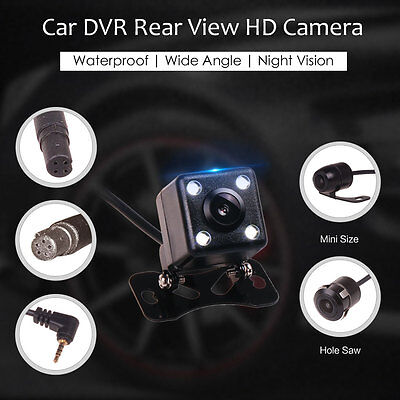 Rear View Backup Reverse Parking Camera 4Pin 2.5 AV In for Car DVR Android GPS