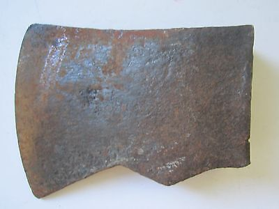 """Vintage Unmarked Jersey Style """"Old Timer"""" Felling Ax Axe Head  3 .5 lbs."""