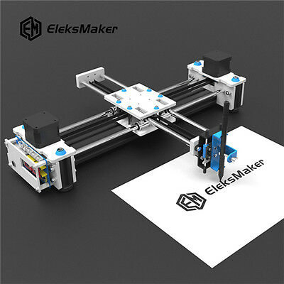 2 Axis EleksMaker Mini XY CNC Pen Plotter DIY Laser Drawing Machine Printer AU
