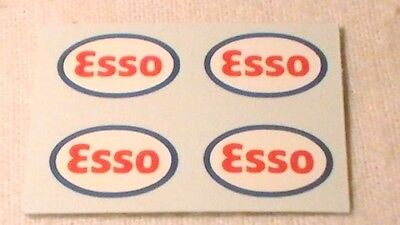 Triang, Hornby Lima Ect Esso X4 Wagon Transfers / Water Slide / Decal's Spares