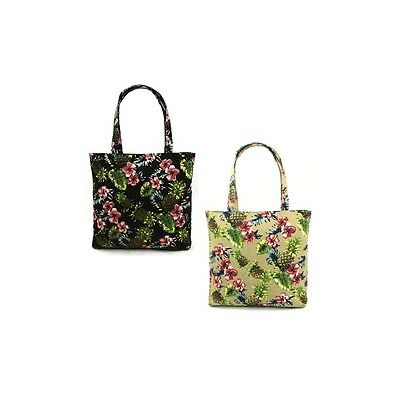 Style 222-PINEAPPLE Wholesale Mid Size Tote in a Pineapple Print