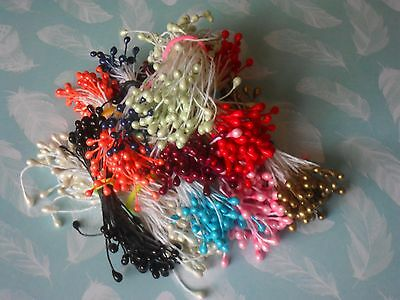 3 mm Double Ended Pearl Stamens 100 pcs
