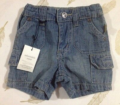 Pumpkin Patch Baby Boys Shorts 0-3 Months New