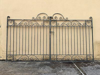 Hand Forged Wrought Iron Gates