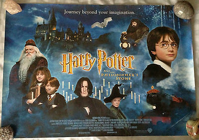 Harry Potter Mini Quad Movie Poster (Philosopher's Stone / Chamber Of Secrets)