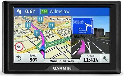 "Garmin Drive 51LMT-S With UK And Ireland Maps Driving Navigation GPS 5"" Sat Nav"