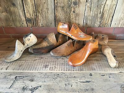 Vintage Wooden Shoe Lasts Ornaments
