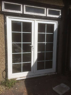 exterior french patio double glazed doors frame 155 00