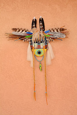 Native American Spirit Mask by Robert Crying Red Bear- The Caller