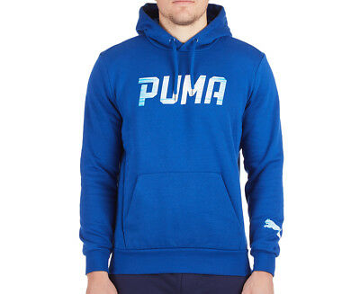 Puma Men's Rebel Hoodie - True Blue