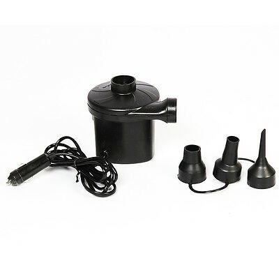 12V DC Electric Air Pump For Inflatable Air Mattress Bed Boat Toy Raft Pool New