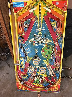 Bally Star Trek Pinball Fully Complete Wired playfield