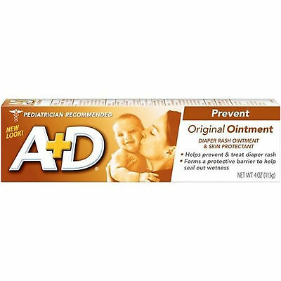 MSD Consumer Care A + D Original Ointment, Diaper Rash & Skin Protectant Oin ...