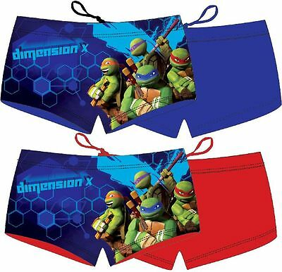 Boys Kids Childs Official Ninja Turtles Holiday Swimming Trunks Shorts