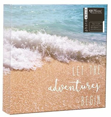Travel Memories Album to Fit 200 4 x 6-Inch Photos With Memo Writing Area