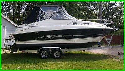 2007 Larson Cabrio 240 Cruiser 27-ft, Volvo 5.0 GXI, 270HP, Low Hours, Trailer