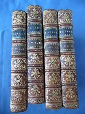 Swift-The Tatler Or Lucubrations Of Isaac Bickerstaff-London Mdcclix-Legature