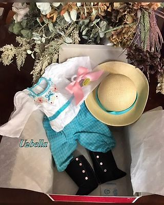 American Girl Samantha's Bicycling Outfit for Dolls Beforever NEW IN BOX NO DOLL