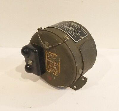 NOS Stewart Warner Aircraft Duct Pressure Switch 47338-A
