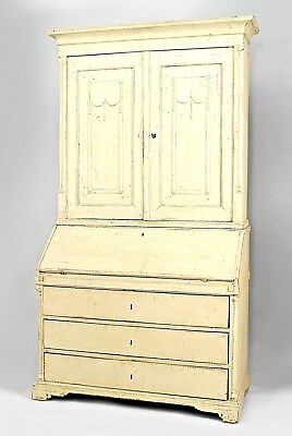 Continental (Possibly Swedish/Danish 18th Cent) Gustavian Style Secretary