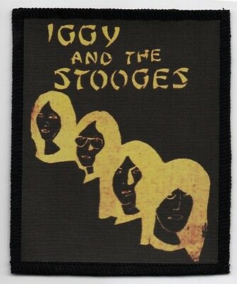 Iggy And The Stooges Patch / Speed-Thrash-Black-Death Metal