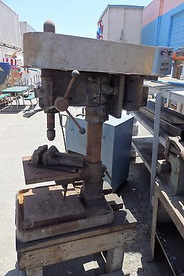 Buffalo Forge No. 18 Heavy Duty Drill Press with Mounted Vise, Dayton Motor