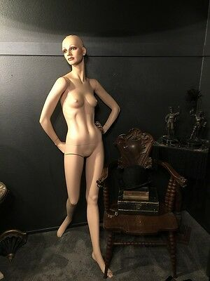 Stunning Vintage Mannequin Adult Posing Arm can be up or down hand on hip