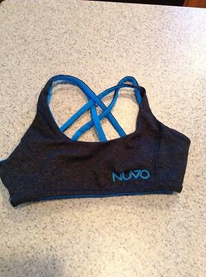 Nuvo reversible youth small dance bra