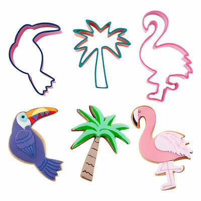 Sunnylife Cookie Cutters Tropical Set of 3