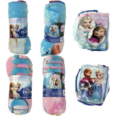 Disney FROZEN Fleece Blanket 100 X 150 CM For Girls Cartoon Characters