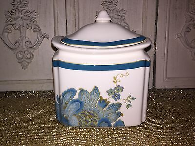 222 Fifth Eliza Teal Small Canister w/ Lid! BRAND NEW Coordinates Available too!